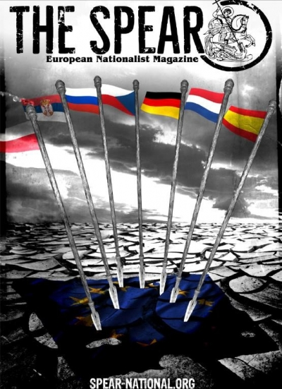 Adam Busse - The Spear. European Nationalist Magazine. No. 1, 2018 – recenzja